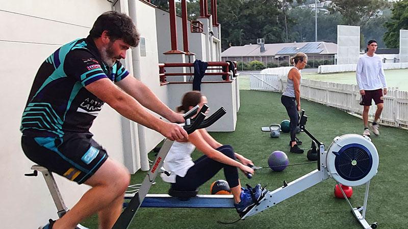 Lets Move Semi Private Training Brisbane