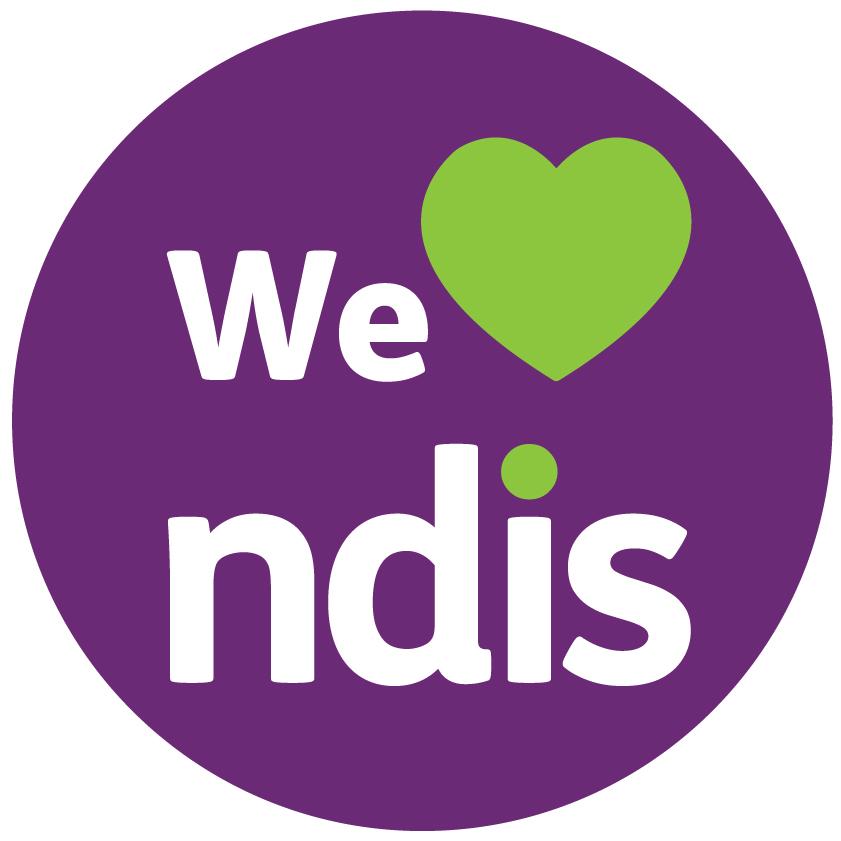 We love NDIS logo